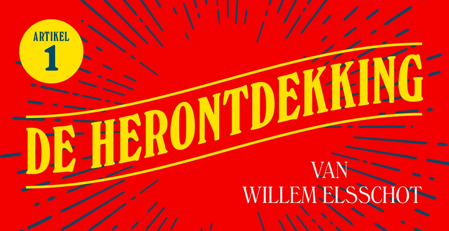 De herontdekking van Willem Elsschot