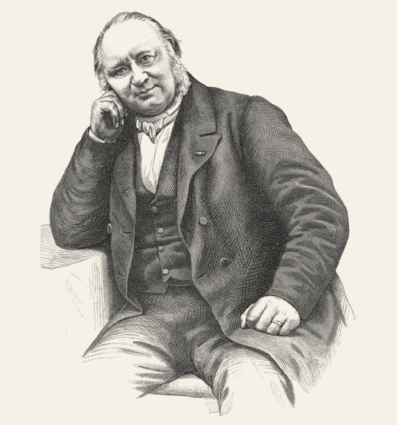 portrait Nicolaas Beets