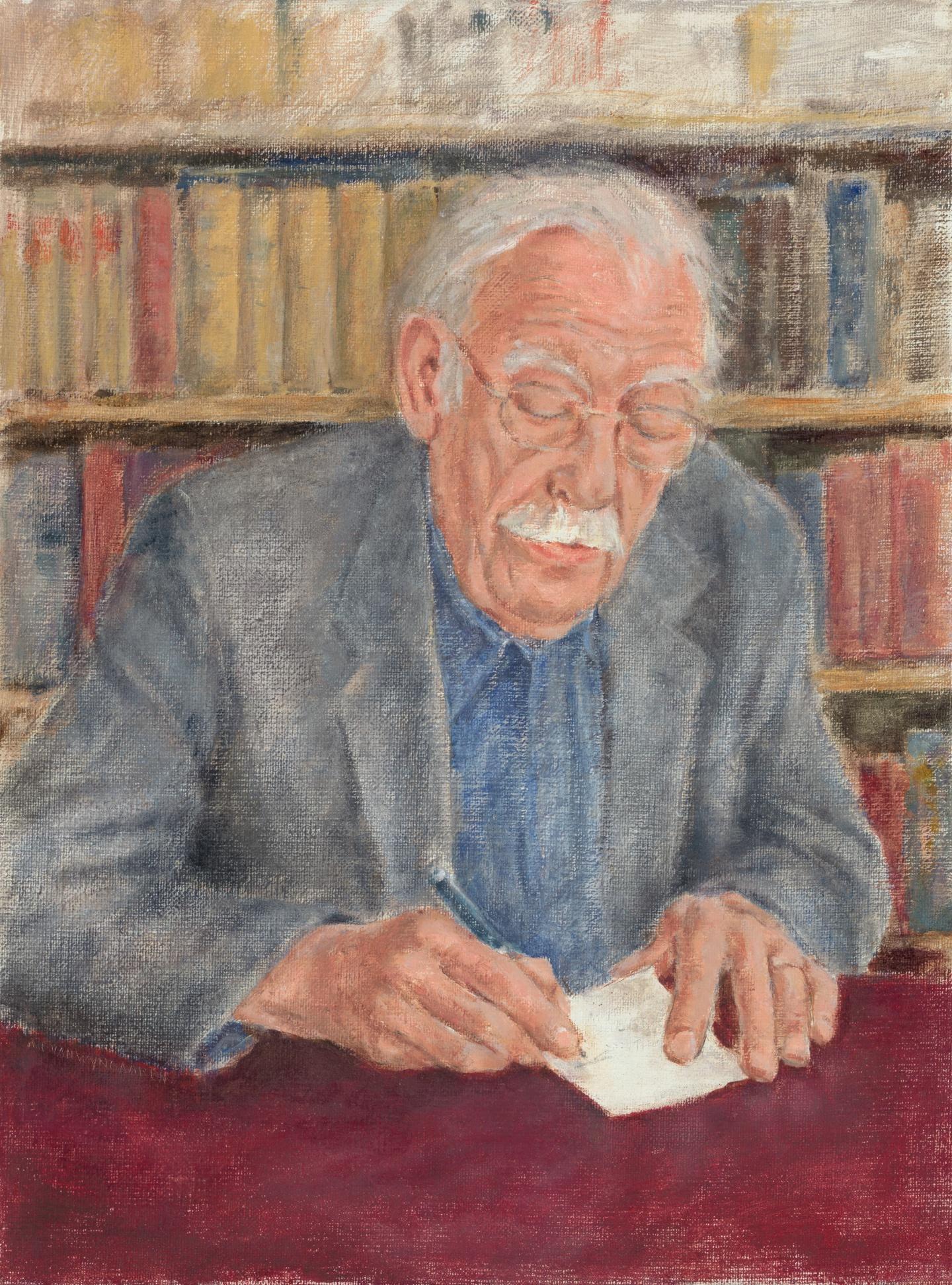 Guillaume Van Der Graft Schrijversgalerij Literatuurmuseum
